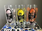 's 70's BURLESQUE Pin UP Dancers DIGWARE Drinking GLASSES