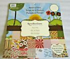 Recollections Stitch in Time Paper Stack 12 x 12 Scrapbook Pad DCWV
