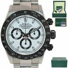 PAPERS Rolex Daytona 116520 White Dial Ceramic Chrono Watch Project X Heritage