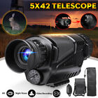 5X42 Zoom Night Vision Infrared Telescope Camera Video Monocular Outdoor Hunting
