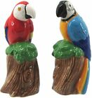 JD Yeatts 2 pc Macaw Parrots Salt  Pepper Shaker Set One Size Multi