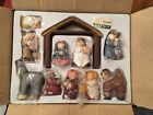 RARE Eddie Walker MIB Childrens Christmas Pageant 11pc Nativity COMPLETE SET