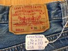 LEVIS 501xx Vintage Button Fly Jeans 36x30 34x28 USA 80s