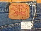 LEVIS 501xx Vintage Button Fly Jeans 35x30 33x27 USA 80s