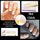 Color Street Nail Polish Strips HOT CHICK Adorable Easter Spring Festive