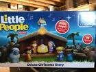 Little People Deluxe Christmas Story Nativity Playset NEW