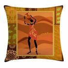 East Urban Home African Woman Native Zulu Girl Square Pillow Cover