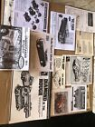 Model Car Instruction Sheet And Decals