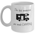 The best memories are made Camping coffee mug funny campers RV trailer gift