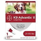 Bayer K9 Advantix II Flea and Tick Control Treatment for Large Dogs 21 55 lbs