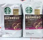 Starbucks Espresso Roast Ground Coffee 2 Packages Dark Roast