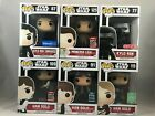 Funko POP! Star Wars Exclusive Lot 6 - Kylo Ren, Han Solo, Princess Leia