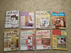CardMaker Simple Scrapbooks Memory Makers Magazines and others Lot of 26