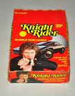 Knight Rider Factory 36 Count Full Box Wax Bubble Gum Cards Donruss 1982