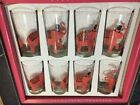 Libby Pink Elephant Glasses 8 New in Box