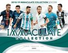 2019 Panini Immaculate Collection Soccer Hobby Box(1 Pack 6 Cards:5 Autos, Memo)