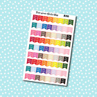 A110 Pay Day Flags Planner Stickers for Erin CondrenHappy Planner Payday