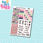 A137 Bows Date Covers Planner Stickers for Erin CondrenHappy Planner