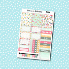 A159 Flamingos  Pineapples Planner Stickers for Erin CondrenHappy Planner