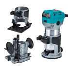Trimmer Compact Router Kit Hand Laminate 710W Plunge Tilt 3 Base for Makita