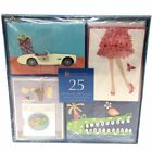 Burgoyne 25 Handmade All Occasion Greeting Card Assortment with Matching Envelop
