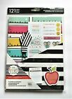 The Happy Planner 121pc Teacher Accessory Pack Classic NIP Pages Stickers Apple