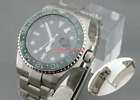 Parnis 43mm Sapphire Glass Deployment GMT-MASTER II Automatic Men Watch 1458