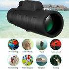 50X60 Zoom Optical HD Monocular Telescope+Tripod+Clip for Outdoor Travel Hunting