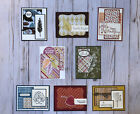 8 Fall Autumn Thanksgiving handmade greeting cards envelopes Stampin Up more