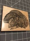Wood Mounted Rubber Stamp Victorian Fans Stamp Abilities New Stampabilities