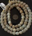 73 Old Rare Venetian Antique Clear Skunk eye Glass African Trade beads