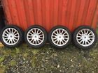 FIAT BRAVO 16 ALLOY WHEELS AND TYRES