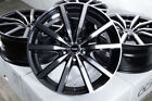 18 Wheels Acura Legend RSX TLX TSX Camry Corolla Honda Accord Civic Black Rims