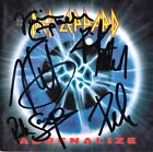DEF LEPPARD Adrenalize, FULLY SIGNED Joe Elliott +4 Hysteria Pyromania AUTOGRAPH