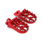 CNC Foot Pegs FootRests Pedal For Honda CR CR125 CR250 CR500 Yamaha YZ125 WR400