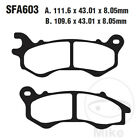 EBC Scooter HH Front Brake Pads SFA603HH Peugeot Speedfight 125 4 R-Cup SBC 2018