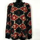LRL Lauren Jeans Co XL Henley Shirt XL Aztec Native blanket print Southwestern