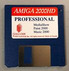 Vintage 1990 Commodore Amiga Floppy Disk 2000HD MediaShow Paint Music