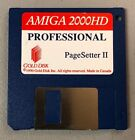 Vintage 1990 Commodore Amiga Floppy Disk 2000HD Pagesetter II