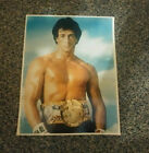 ROCKY COLLECTORS BOX & 1979 TOPPS ROCKY II & ROCKY IV TRADING CARDS & 8x10 PHOTO