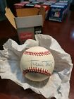 WILLIE MAYS AUTHENTIC AUTOGRAPHED BASEBALLNEW YORK SAN FRANCISCO GIANTS – HOF