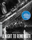 A Night to Remember Criterion Collection Blu ray Tucker McGuire RESEALED