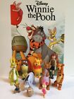 Disney Winnie the Pooh Figure Set of 10 with Pooh Christopher Robin and MORE