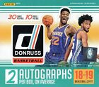 2018-19 Panini Donruss NBA Basketball Cards Hobby Box