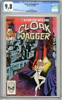 Cloak and Dagger 2 CGC 98 NMMT White pages 11 83 Bill Mantlo story