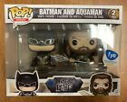 Funko POP! Heroes: Justice League Batman and Aquaman 2-pack FYE Exclusive NEW