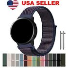 For Samsung Galaxy Watch Active Band Woven Nylon Sport Loop Bracelet Watch Strap