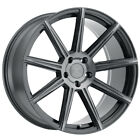 XO Vegas 20x9 5x112 +40mm Gunmetal Brushed Wheel Rim