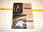 1996 Acura RL Owner's OEM 1 set of 2 Manuals Only,1996 Acura RL