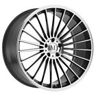 Mandrus 23 22x9 5x112 +35mm Gunmetal Mirror Wheel Rim